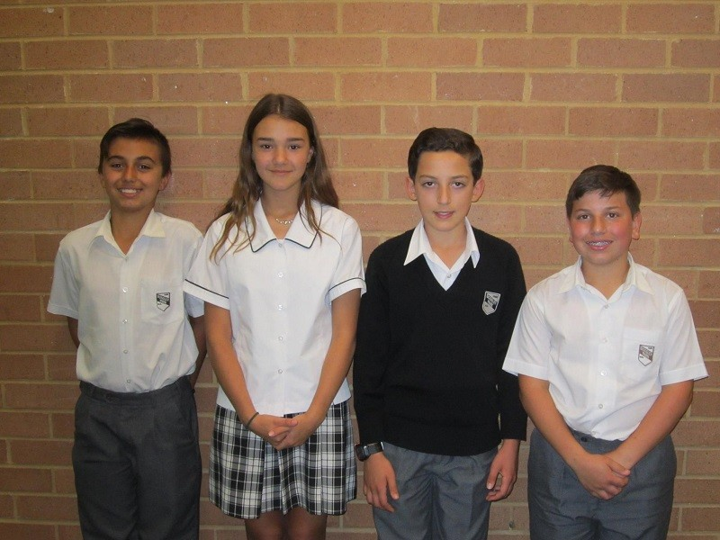 Our Year 7 and 8 debating team progressed to the Interzone Final in 2017